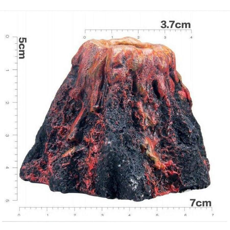 Volcano Fish Tank Stone Air Bubble