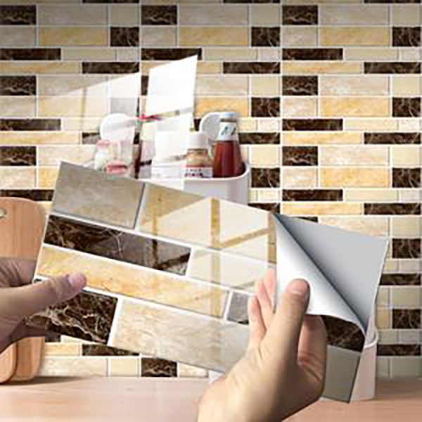 (🔥Clearance Sale - 65% OFF) Creative Home Beautification 3D Tile Stickers(12 PCS)  , Buy 2 Get Extra 10% Off!