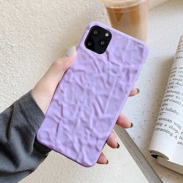 Candy Color Wrinkled Case