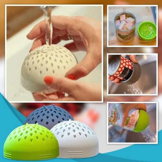 Multi-Purpose Creative Silicone Colander Micro-Perforated Colander Strainer Kitchen Tool