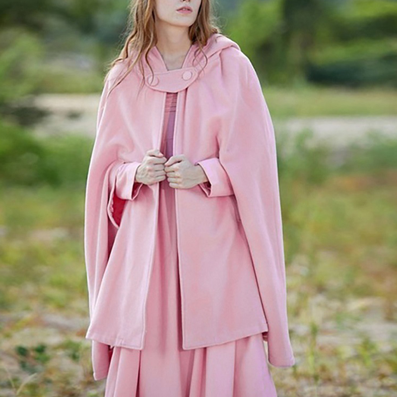 New ladies warm and elegant cloak
