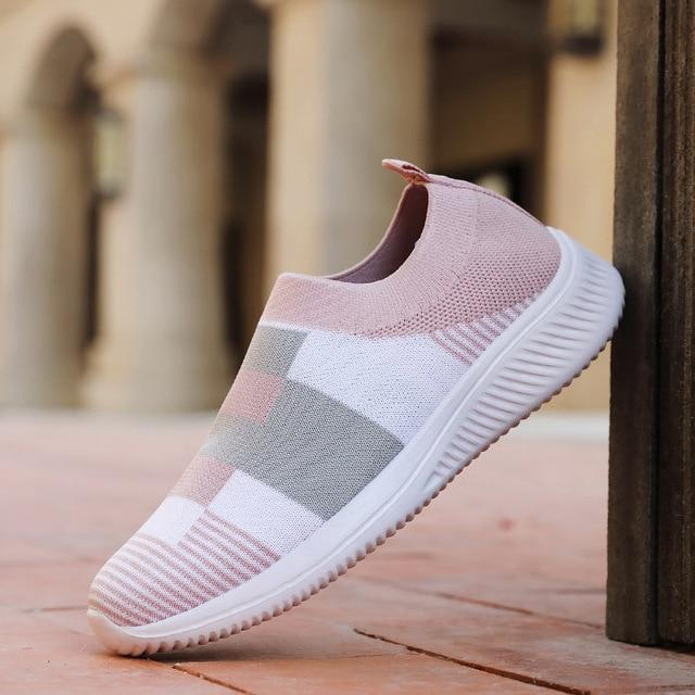 2020 new fashion lightweight knitted casual Sneakers