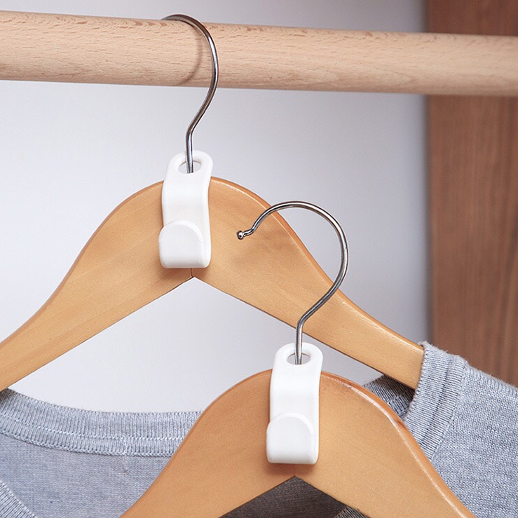 🎉Winter Sale 30% OFF - Clothes Hanger Connector Hooks—Super Space Saving for Closet