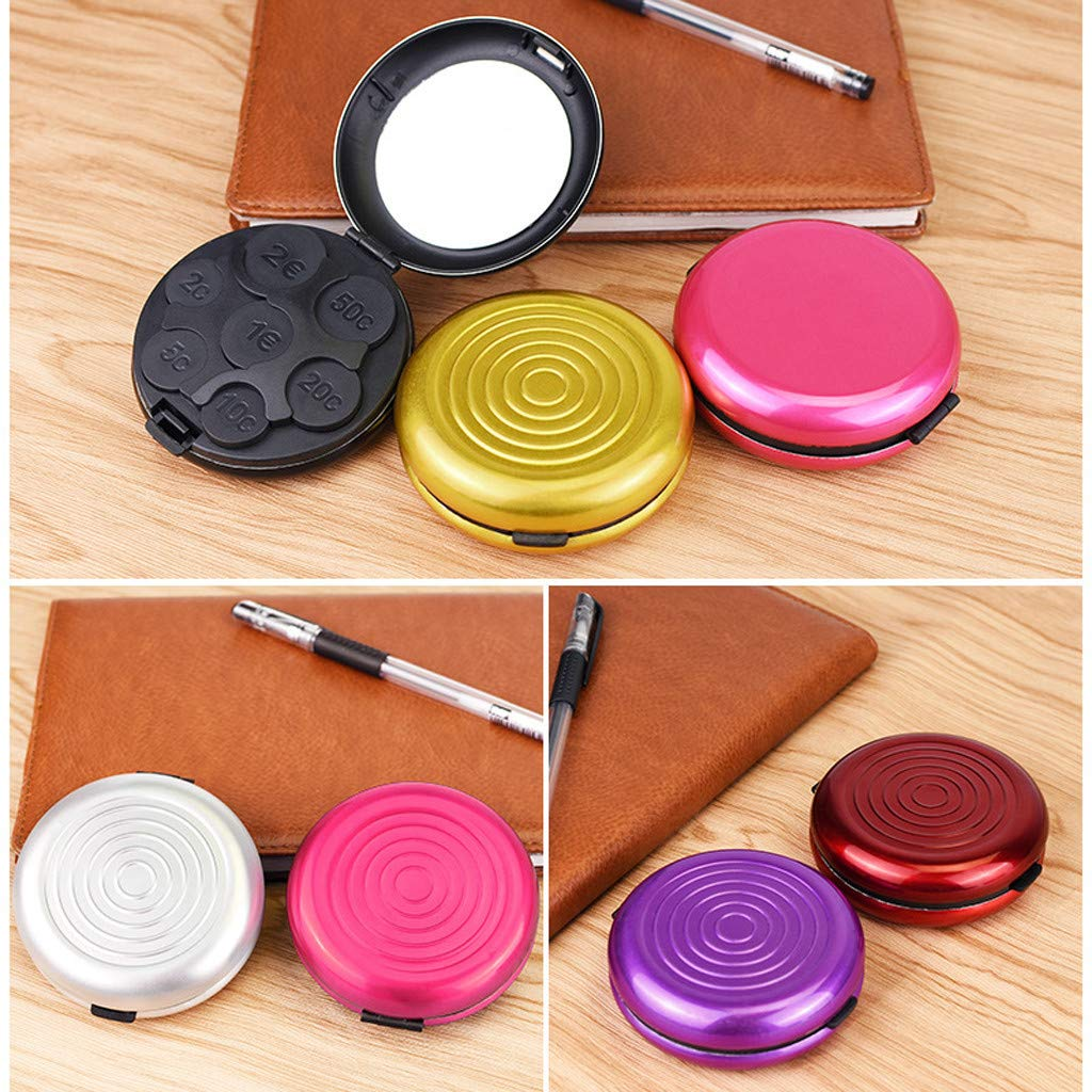12 Color--Aluminim Alloy Coin DIspenser--BUY 2 GET 1 FREE