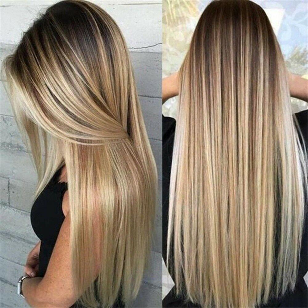 2020 Fashion Ombre Blonde Wigs 360 Lace Frontal Near Me