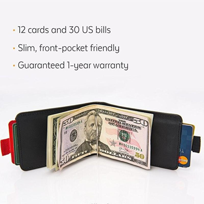 12 Cards & 30 Bills-Slim Pull-out Wallet⚡Buy 2Extra20%OFF
