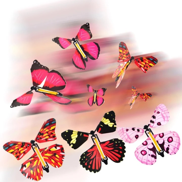 (50% OFF Holiday Season Hot Sale) Magic Butterfly Flying Card Toy - Buy For Your Loved One