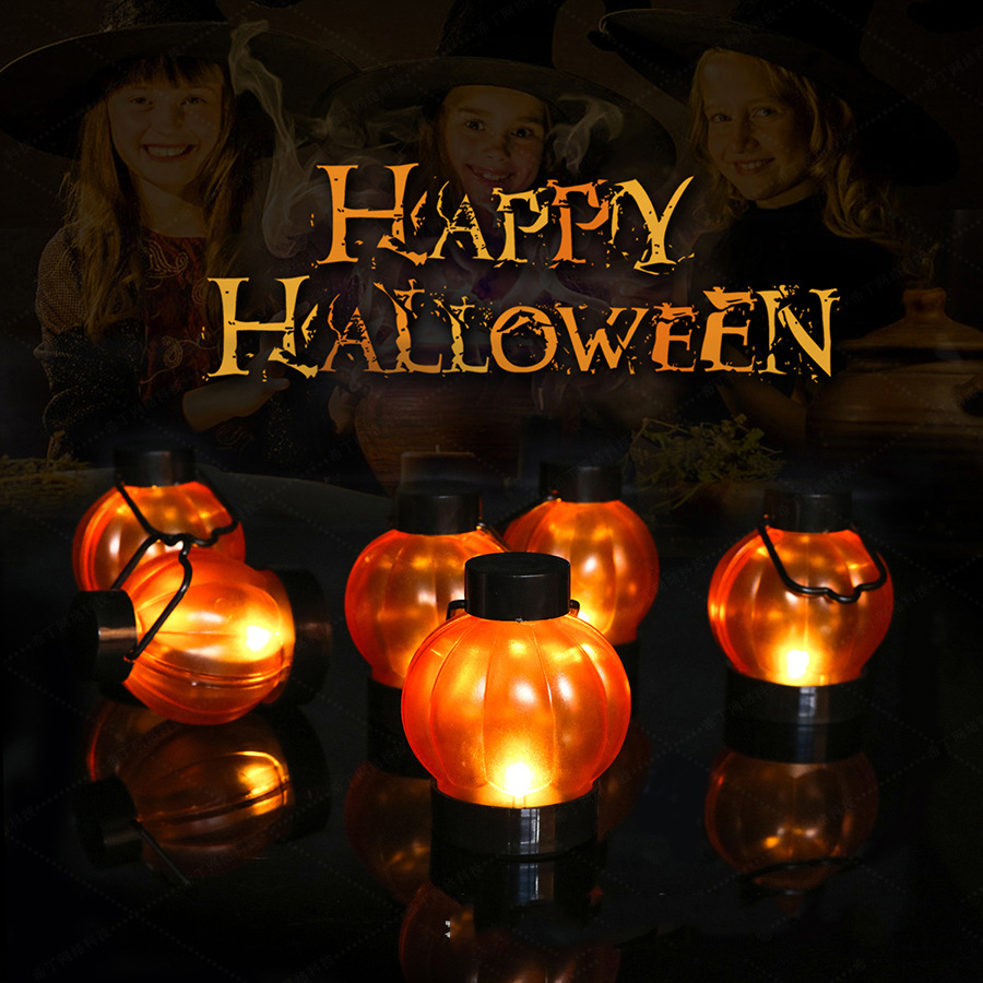 50% Off Only Today - Portable LED pumpkin lanterns