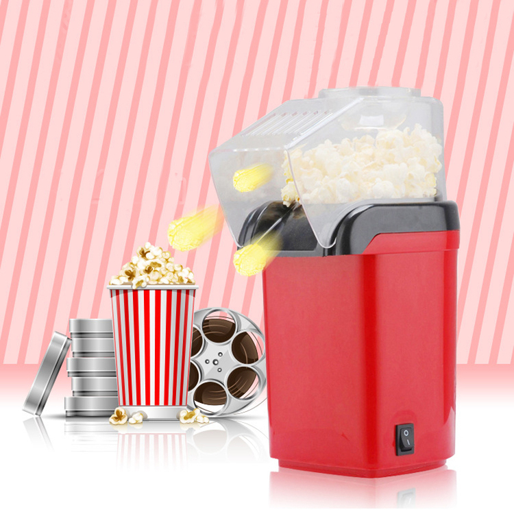 Mini Household Healthy Hot Air Oil Free Popcorn Machine for Household Kitchen
