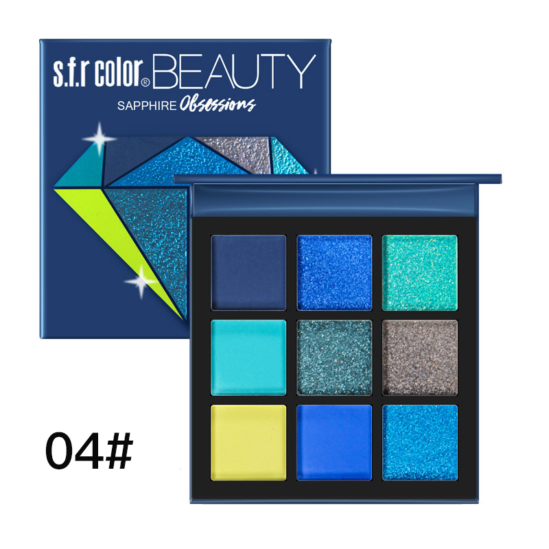 🎉Makeup Desert BEAUTY🎁- 9 color eyeshadow palette