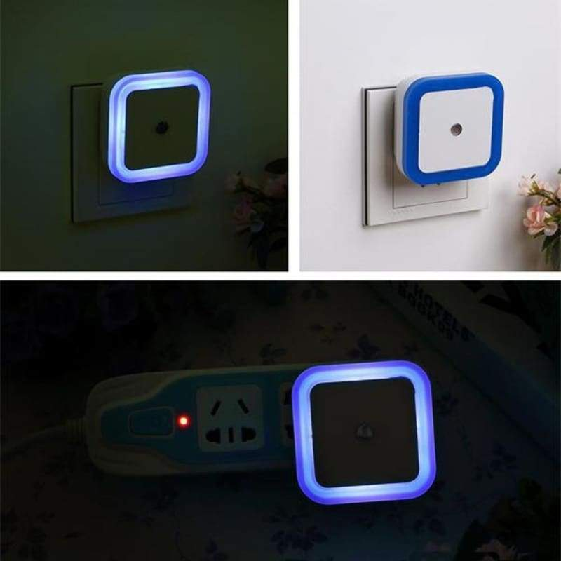 Night light induction for wall