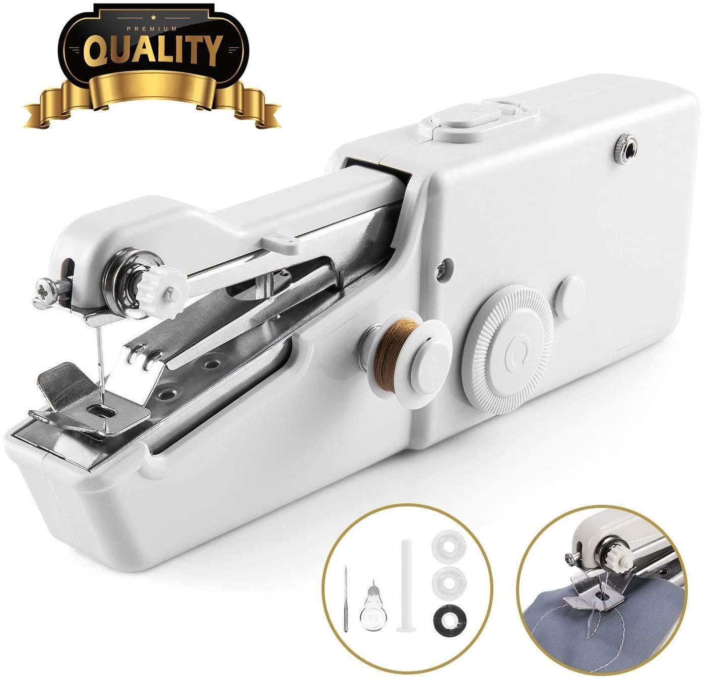 (EARLY SUMMER HOT SALE - 50% OFF & BUY 2 FREE SHIPPING) Portable Handheld Sewing Machine