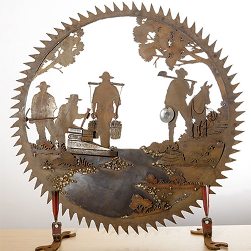 Father's Day Unique Gift&Metal Art Design - Wall Decor
