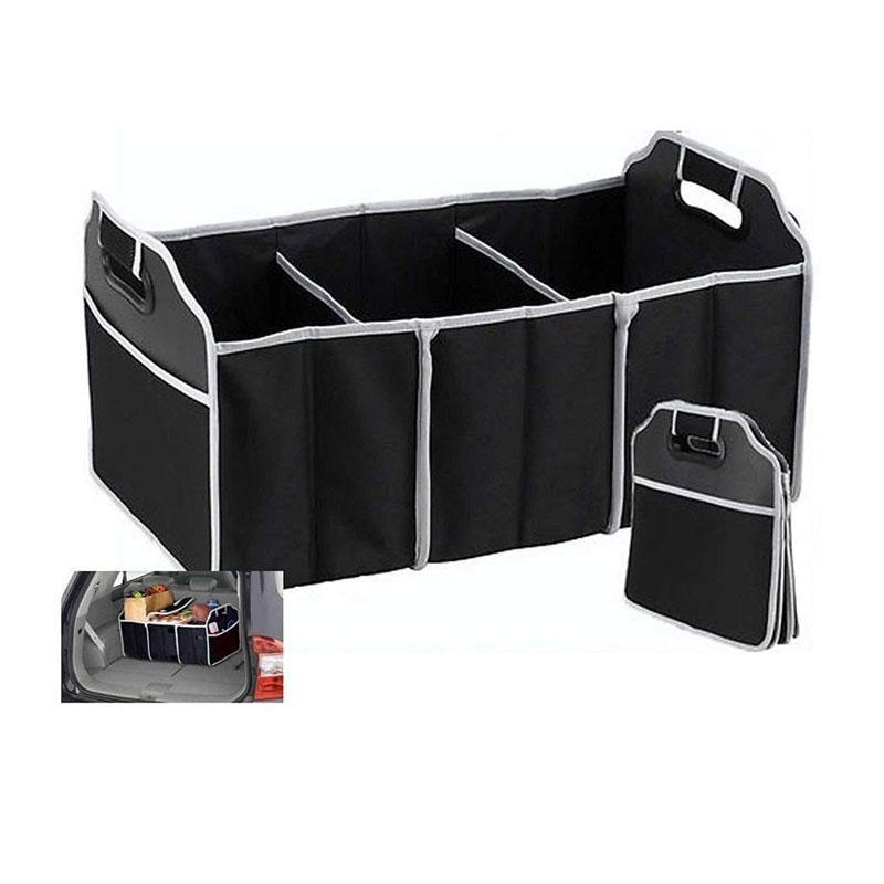 7 Separate Pockets Collapsible Trunk Organizer for Car/SUV