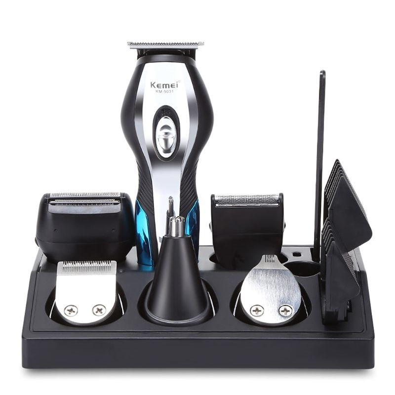 11-in-1 Electric Hair Clippers for Men Head, Beard&Nose Grooming