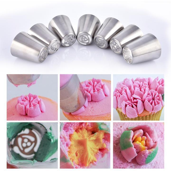 【Hot Sale Now】- Cake Decorating Russian Piping Tips- Everyday is A Good Day for Cake!