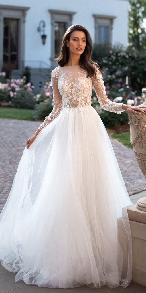 2020 Wedding Dress Long Sleeve Hot Pink Evening Gown Indian Formal Dre Queewwn,Most Unusual Wedding Dresses