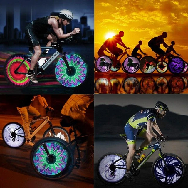 DISCOUNT! -3D Bicycle Spoke LED Lights