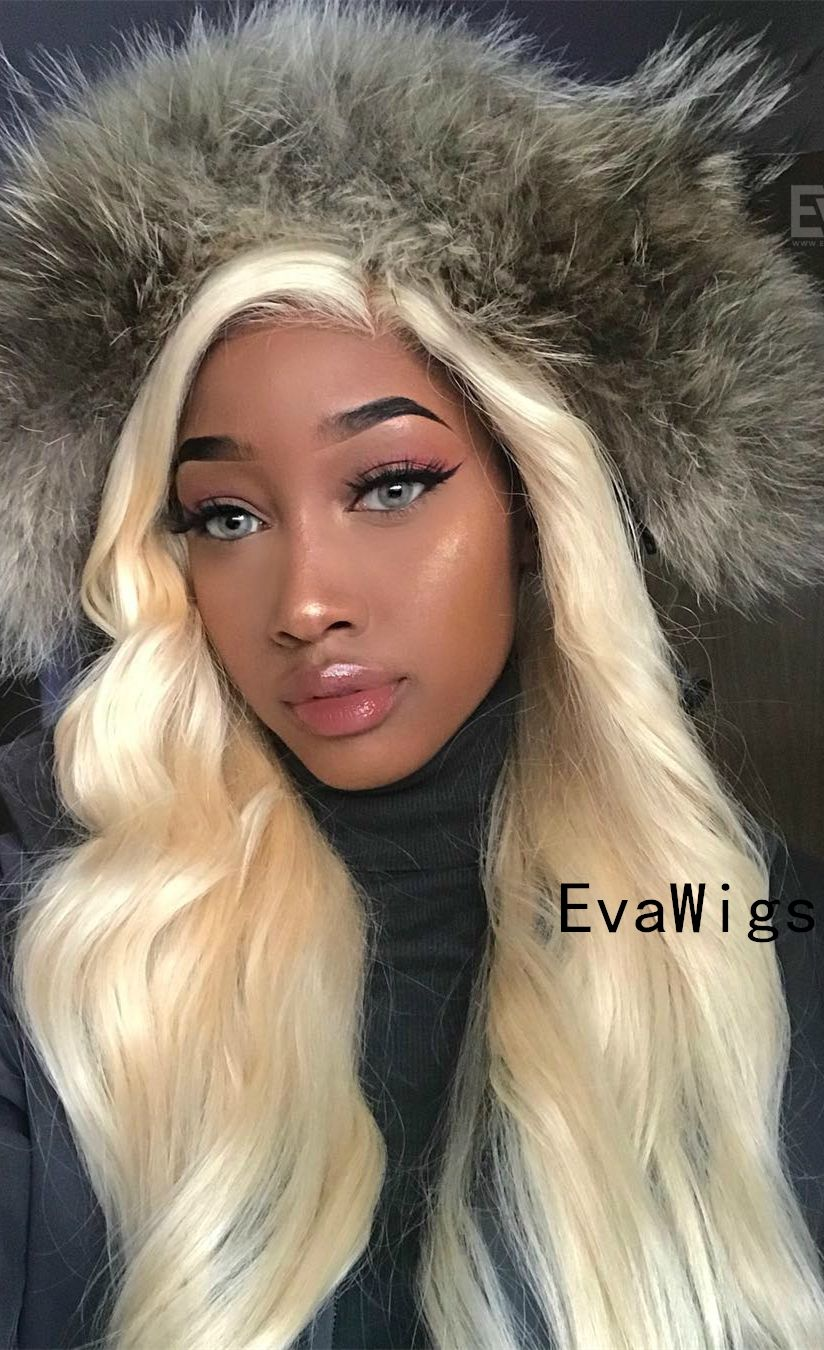 2020 Fashion Blonde Wigs For White Women Blonde Long Bob Wig Big Blond Hair Keune 7.35 Medium Blond Hair Blonde Hair Color Shades Lace Frontal Wigs
