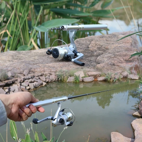 Pocket Fishing Rod-Great for your Travel & Next Adventure!!