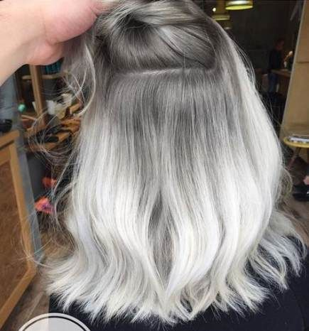 2020 New Gray Hair Wigs For African American Women Short Wigs For Black Women Wigs For Small Heads 60S Wig Perfect Lace Wig Mullet Wig