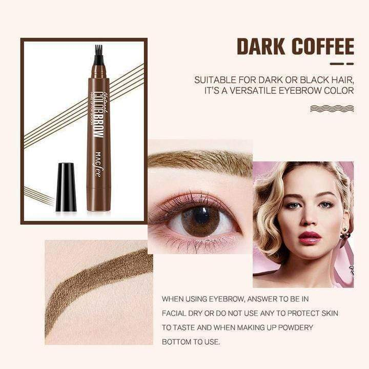 4 Points Eyebrown Pen(BUY 1 GET  1 FREE)