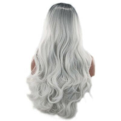 Gray Hair Wigs For African American Women Salt And Pepper Hair Men Violet Wig Ash Grey Ombre Grey Hair Male Good Wigs