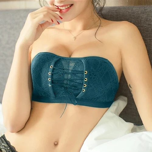 (50% OFF-Last day)Lace Strapless Bandeau