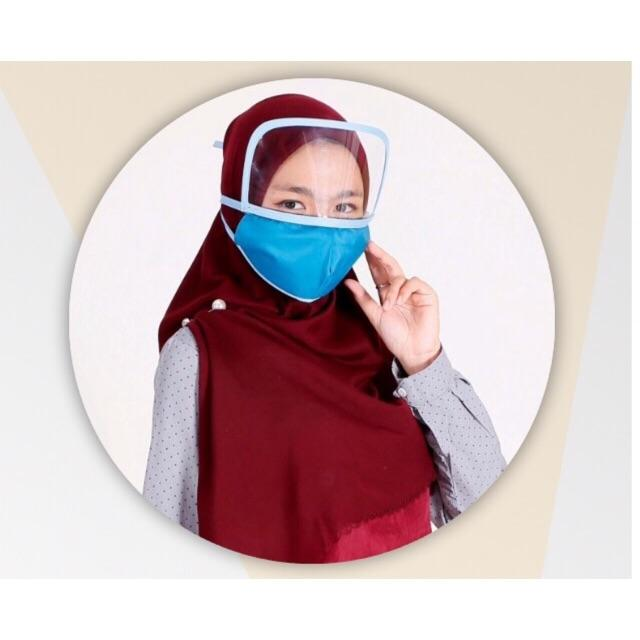 Reusable Face Shield, Plastic Safety Face Shield Adjustable Transparent Full Face Anti-Spitting Protect Eyes and Face Protection