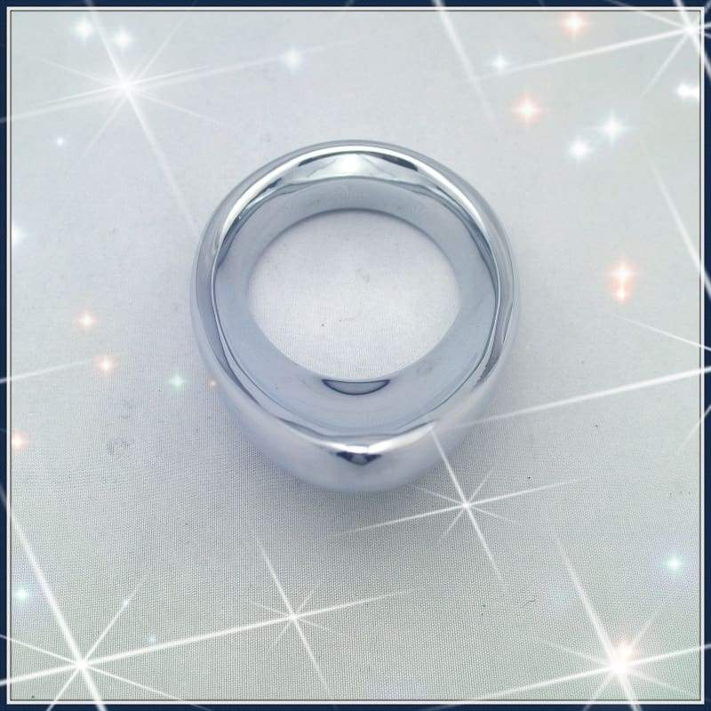 Metal Teardrop Cockring Ejection Delay Ring For Men