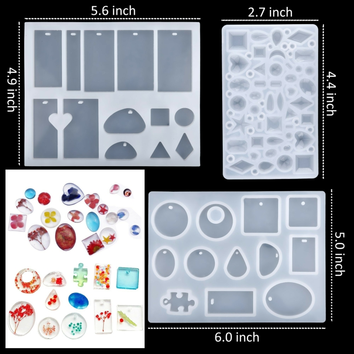 HOT SALE - DIY Crystal Glue Jewelry Mold Kit