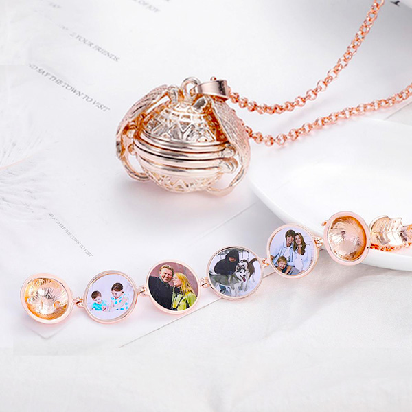 Mother's Day Gift - Multi-layer Photo Creative Necklace