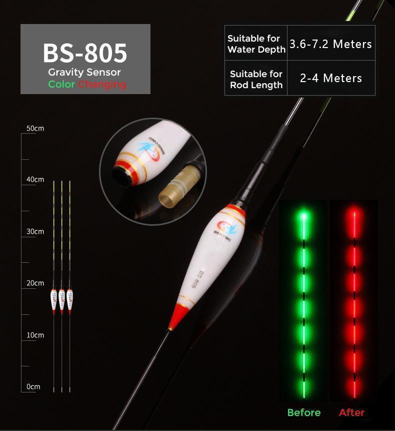 The BEST choice for fishing at night! Smart Fishing Led Light Float
