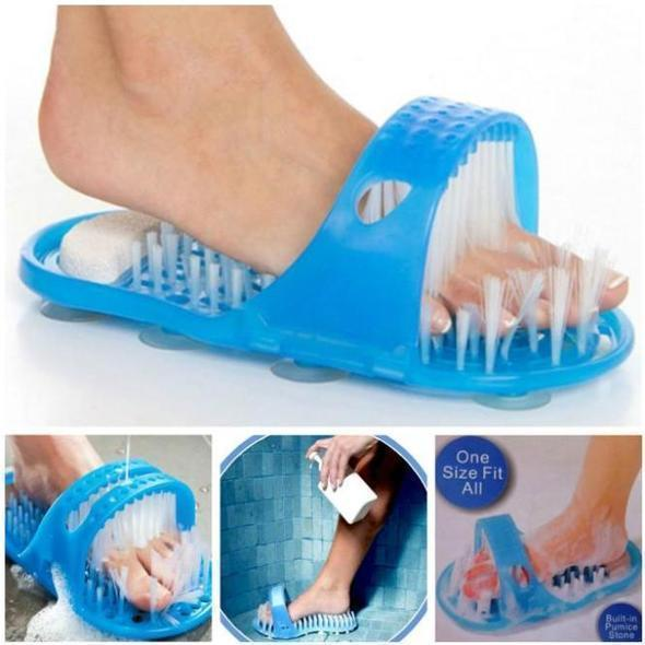 Shower Foot cleaning slippers🔥Last day promotion😍