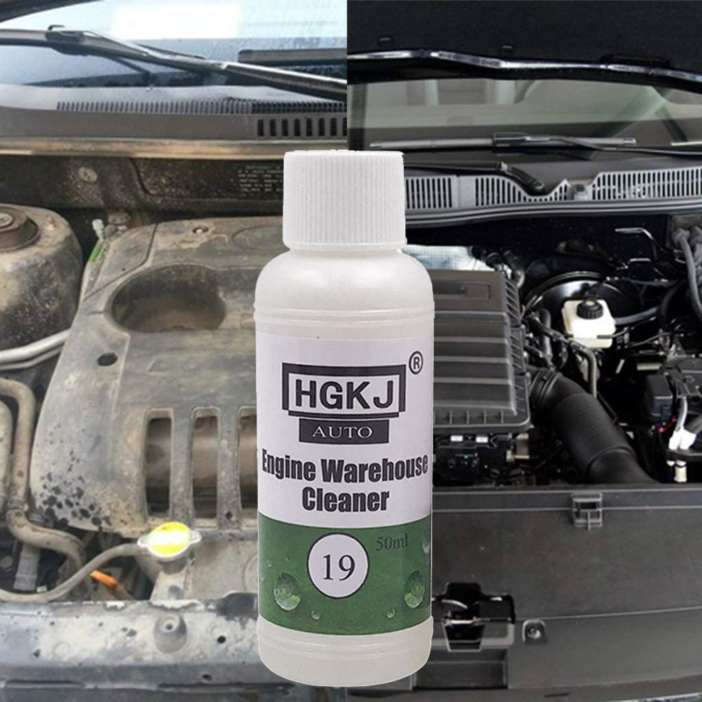 No-Rinse Car Engine Sensitive Cleaner