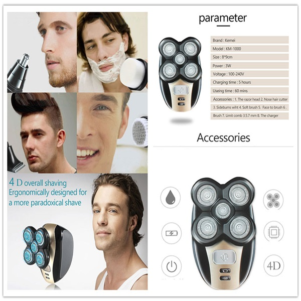 Last Promotion 50%OFF - Father's Day Gift - Men's 5-in-1 Electric Shaver & Grooming Kit