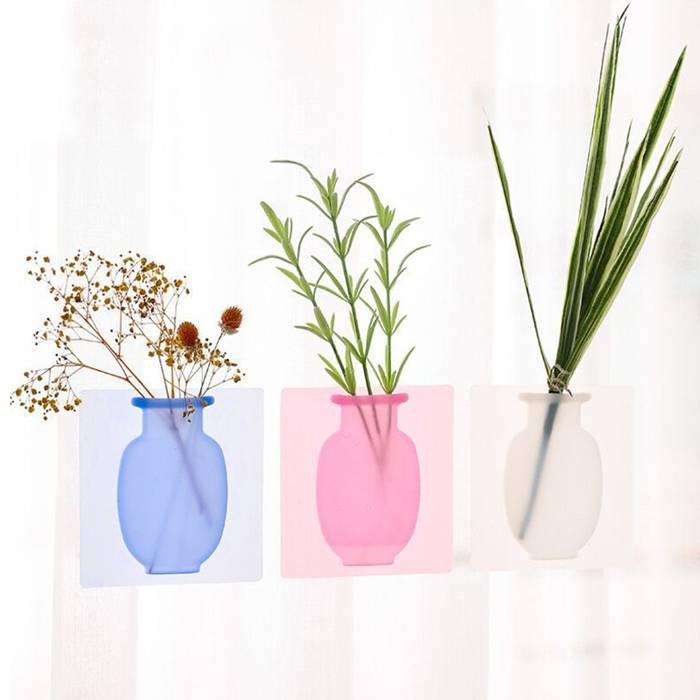 【65% OFF NOW】Magic Traceless Silicone Flower Vase