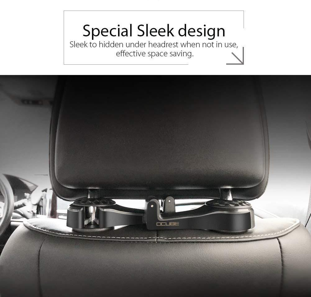 (Last Day 50% OFF!!!) 2in1 Multi-functional Car Headrest Hook