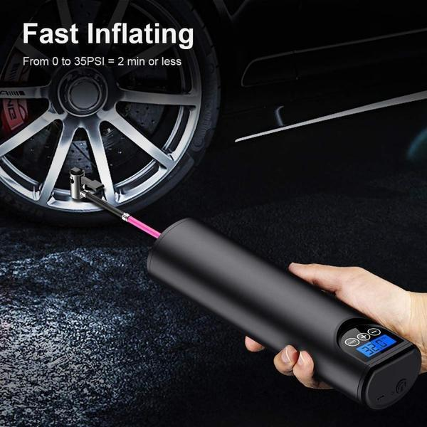 KIKILP™ 2 in 1 Portable Wireless electric car air pump - FROM US AND FREE shipping worldwide