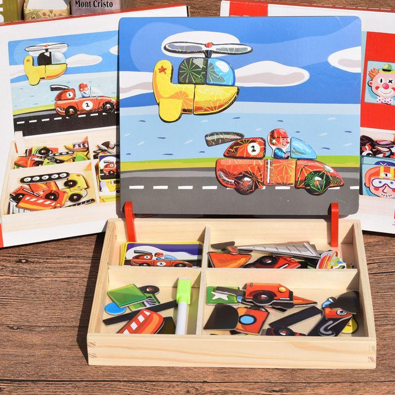 Early Childhood Education Wooden Magnetic Puzzle 🔥50% OFF PROMOTION ONLY TODAY🔥