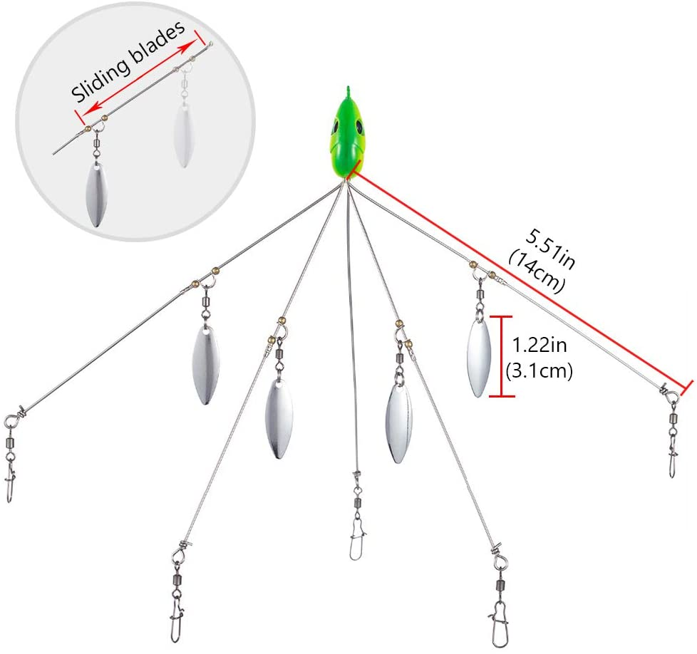 Fishing Umbrella Rig - Catch More Fish Than You Can Handle!