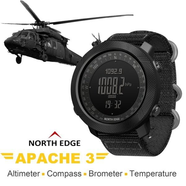 2020 New NORTH EDGE Men's Sport Digital Watch Hours Running Swimming Military Army Watches Altimeter Barometer Compass Waterproof 50m