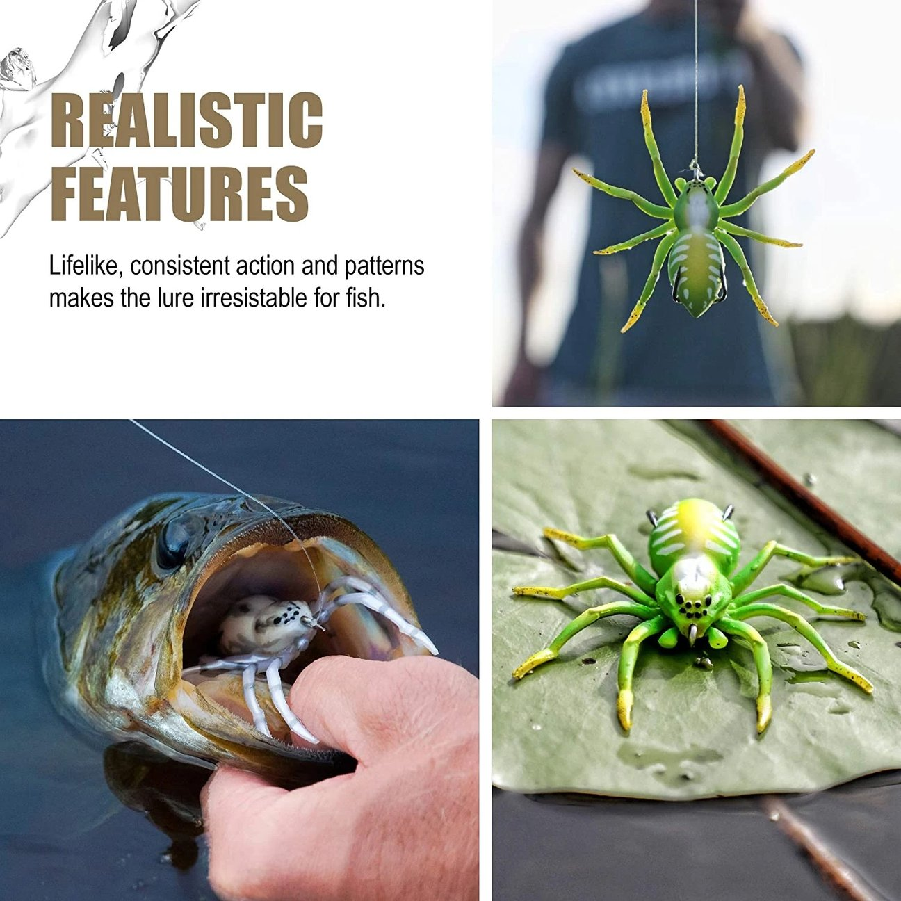 Spider Soft Lure Fishing Lures - 🎁Father's day Pre-Sale!!!