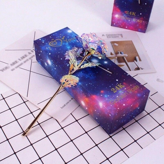 Arosetop  Forever Galaxy Rose For Your Lovers