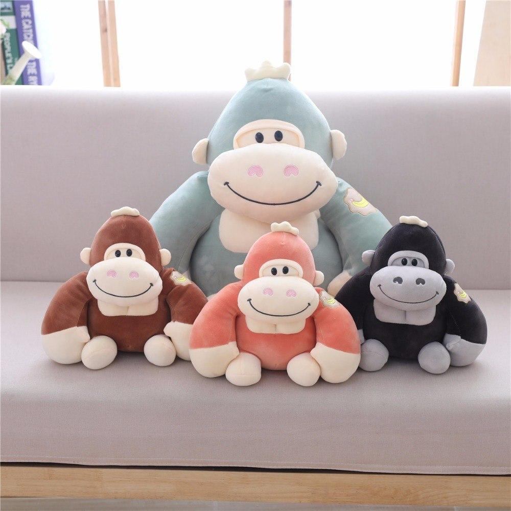 Monkey Gorilla Stuffed Animal Smiling Plush Toy