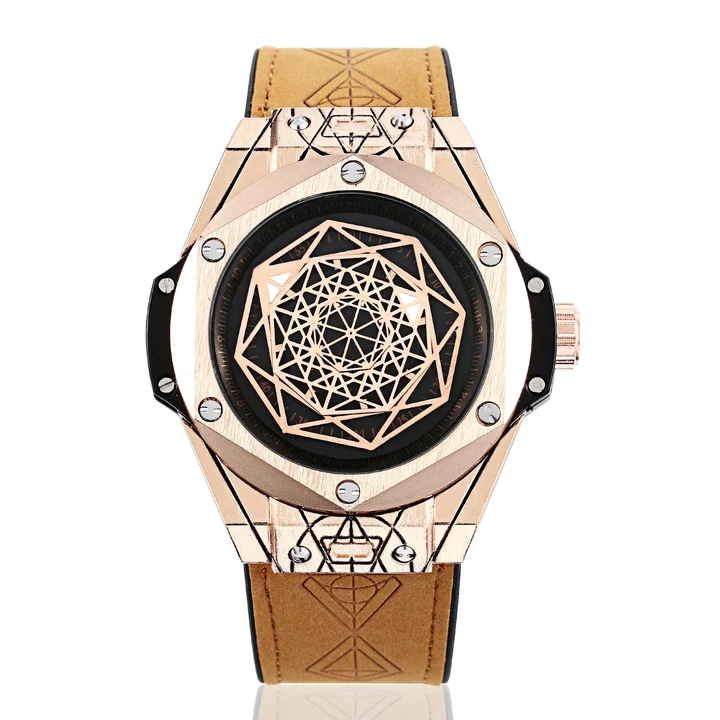 Christmas promotion 60% off - Exquisite gentleman geometry identity personalized watch