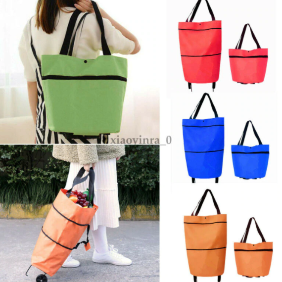 ✨50%OFF-TODAY✨Foldable shopping bag with wheels