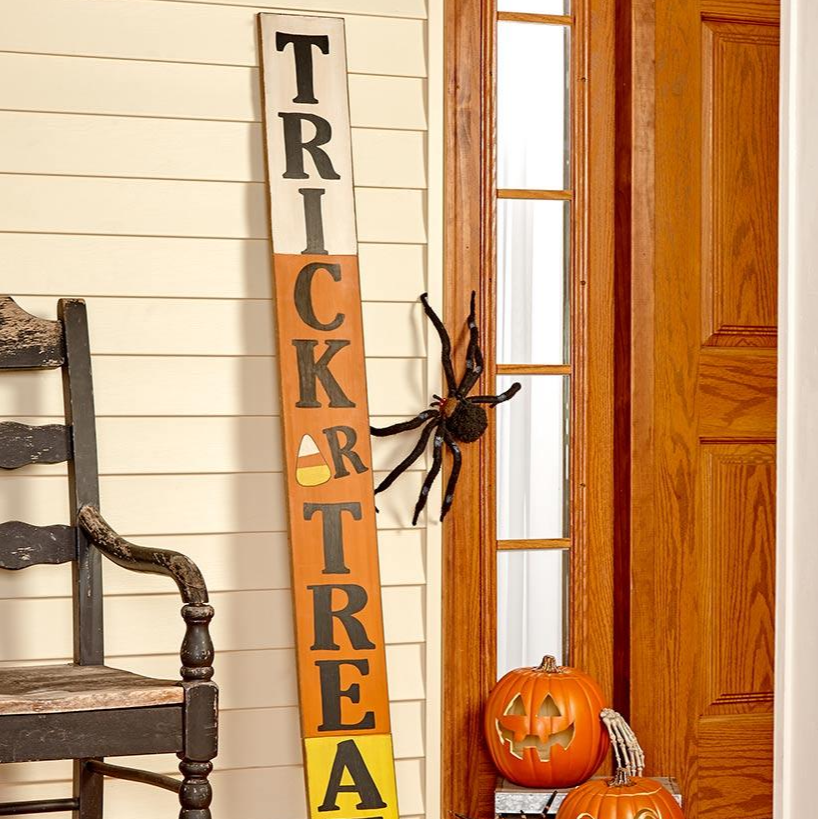 5-Ft. Trick or Treat Sign
