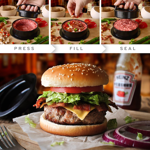 🔥BUY 2 SAVE $10🔥 - BURGER PRESS