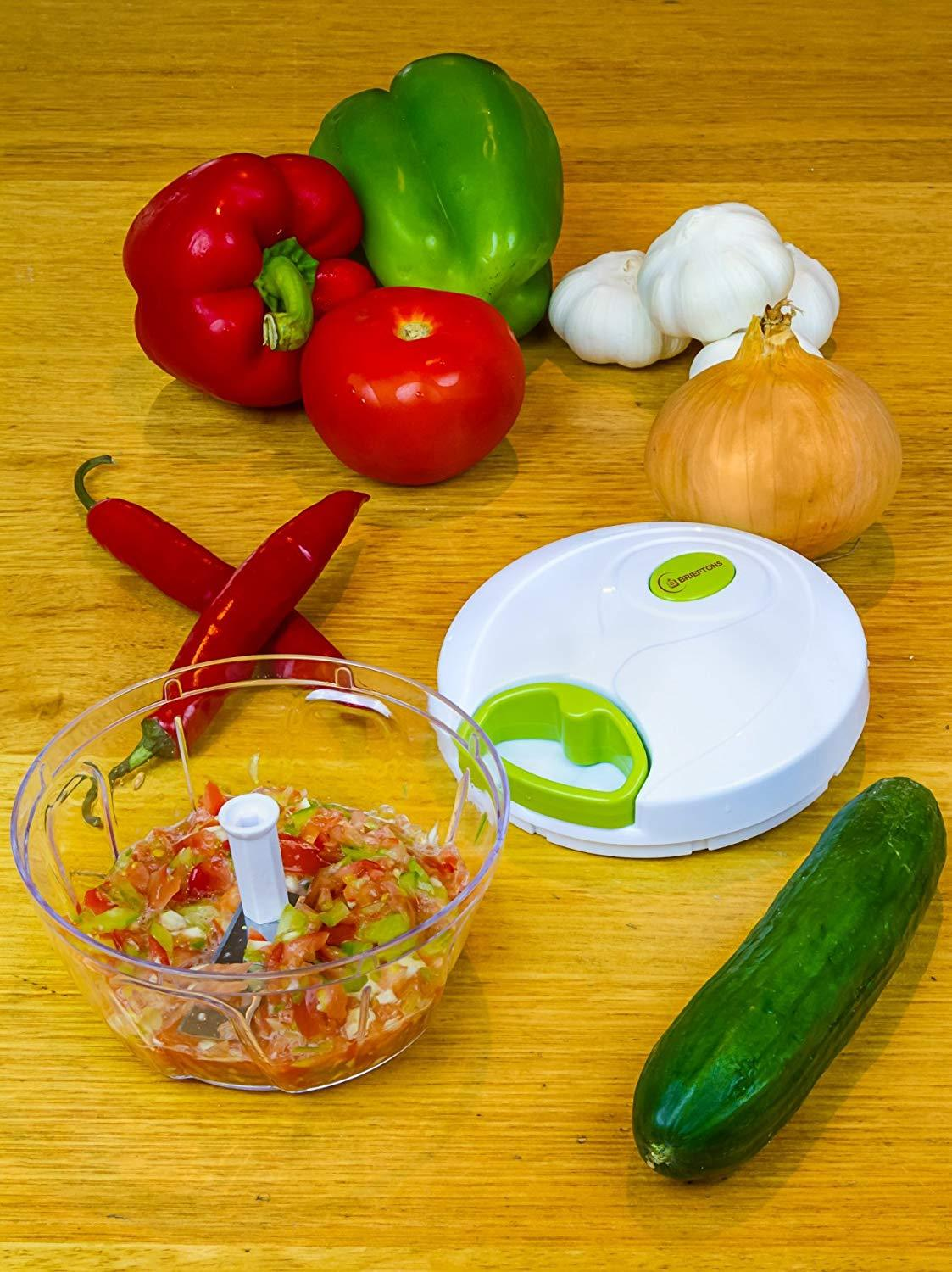 Compact & Powerful Hand Held Vegetable Chopper